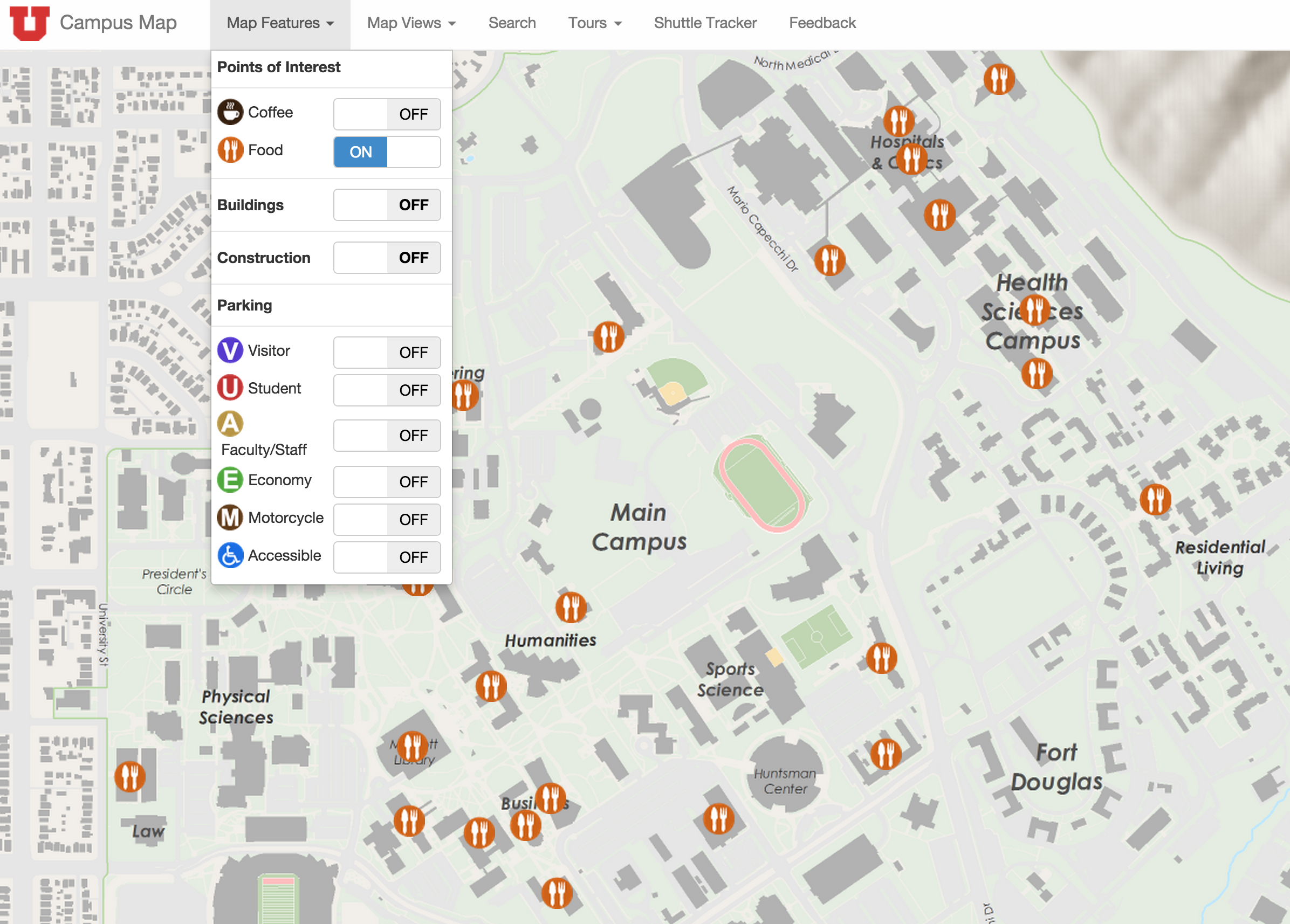 New Online Campus Map Launched | @TheU