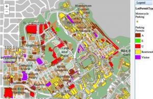 Parking Permit Map