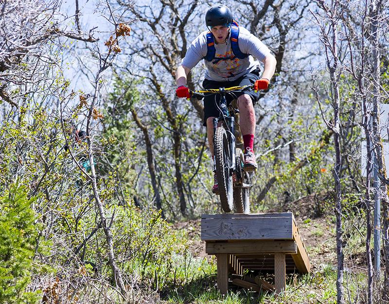 Road to Arcylon Mountain Bike Trail University of Utah