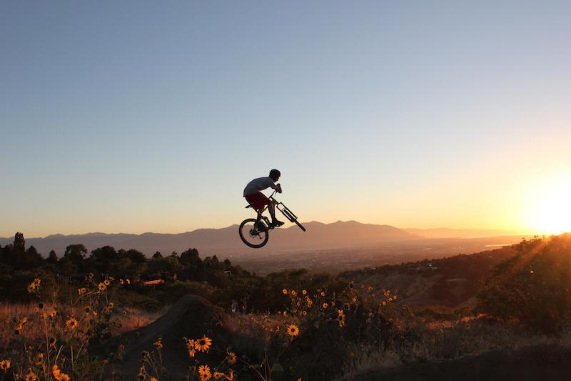 I Street Mountain Bike Park University of Utah