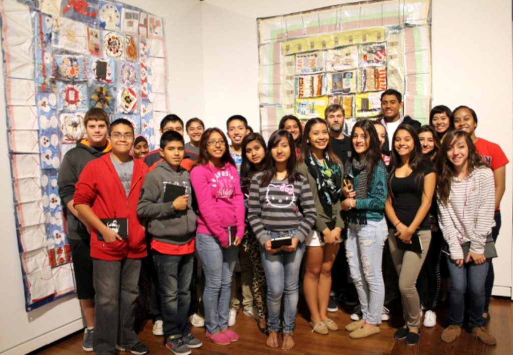 PHOTO CREDIT: Jorge Rojas. Clemente Course students on a field trip at the Utah Museum of Contemporary Art.