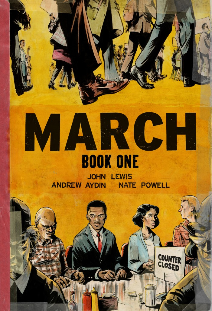 March Book One cover 300dpi