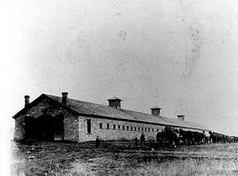 Camp Douglas Stables - Credit Fort Douglas Museum Archives