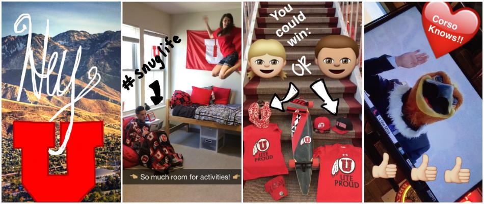 University of Utah Snapchat