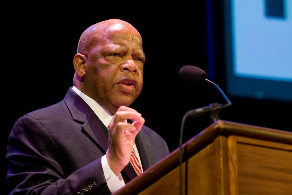 U.S. Representative John R. Lewis.