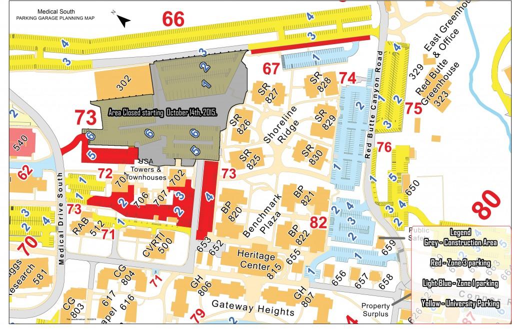 HSC Shoreline garage impact map