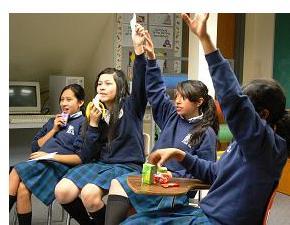 Students participate in the University of Utah College of Social Work Dixon Girls Forum.