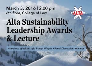 Alta Award lecture