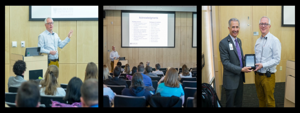 These photos are from the 2015 Research Retreat that focused on frailty and featured a keynote address by Dr. Kenneth Rockwood.