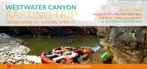 OA Westwater Rafting Trip Box
