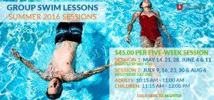Swim Lessons Summer '16 Box