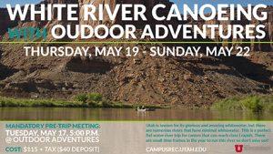 OA SU16 White River Canoe Trip attheu