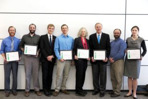 The Alta Sustainability Leadership Award winners, recognized for their innovative sustainability research at the University.