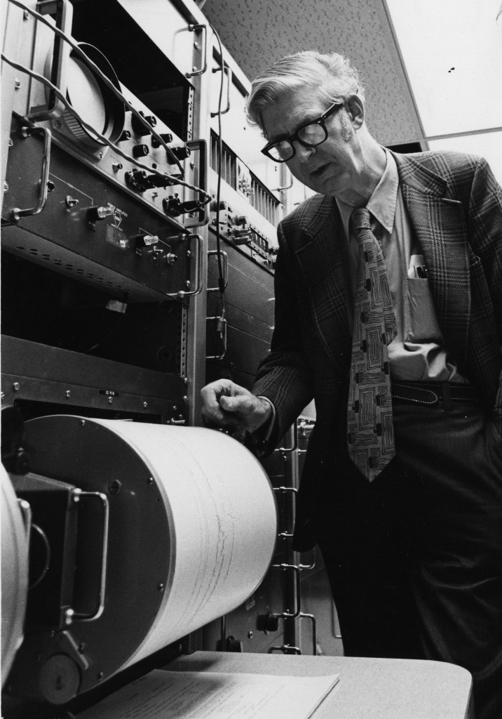 Kenneth L. Cook was named first director when the U's governing board established the University of Utah Seismograph Station on April 11, 1966.