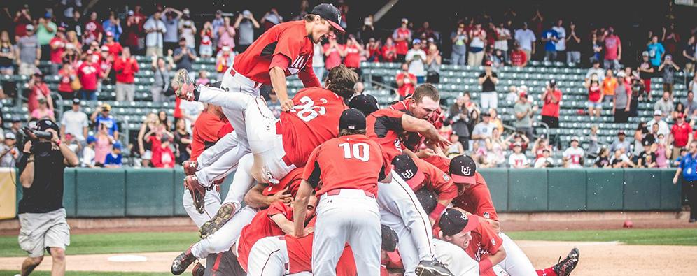 Utah Baseball Pac-12 Champs