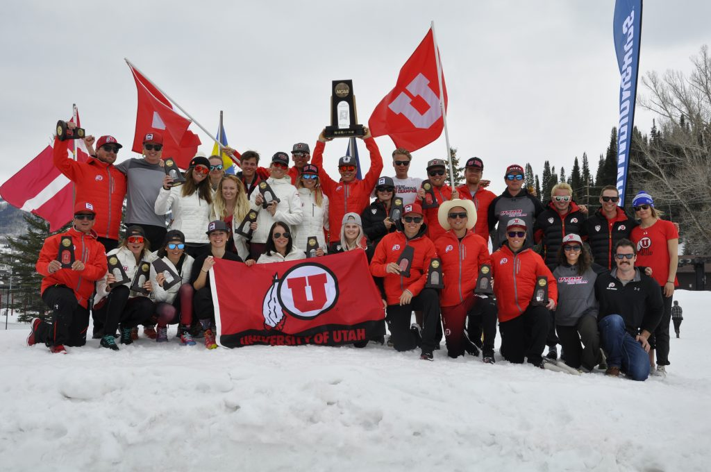 Team Podium 2016 NCAA Skiing.