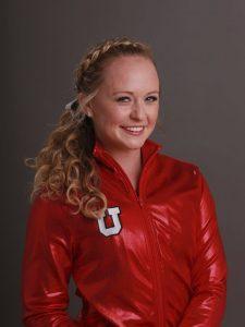 U gymnast Maddy Stover.