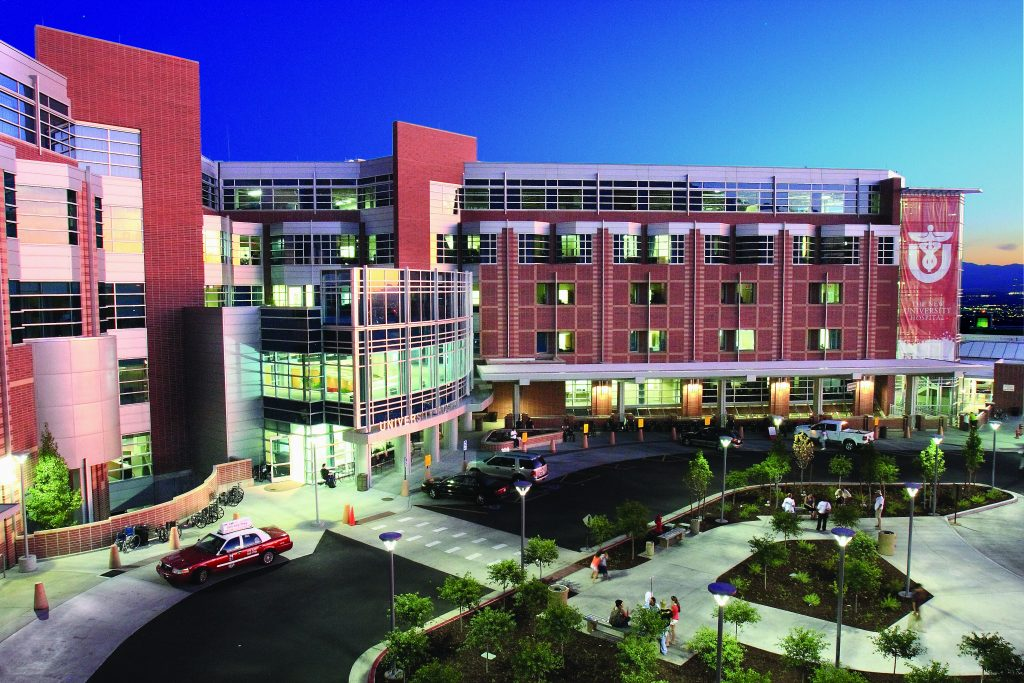 University of Utah Hospital, one of University of Utah Health Care's 4 hospitals and 12 community clinics.