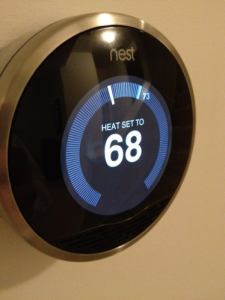 The @nest thermostat.