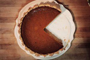 Pacman pumpkin pie.