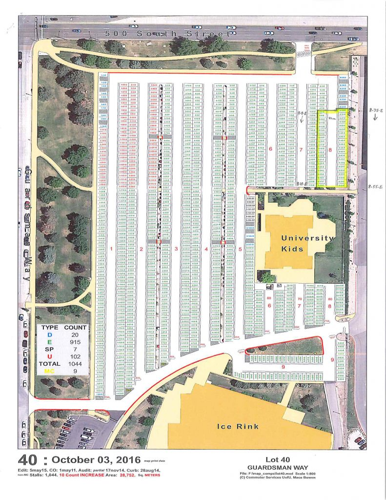 university-lot-40-staging-area-requested