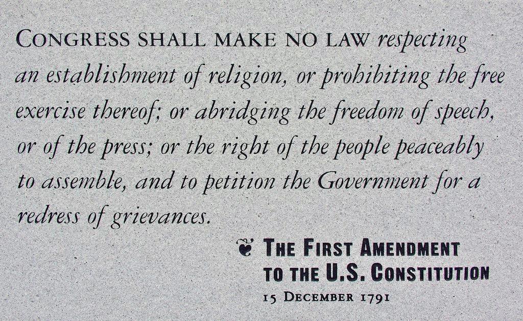 Respecting the 1st Amendment | @theU