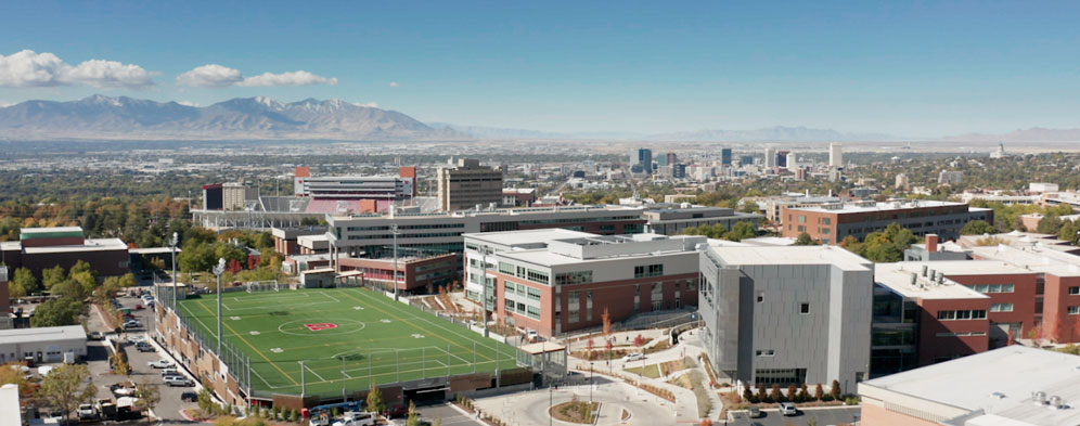 University of Utah Birds Eye View