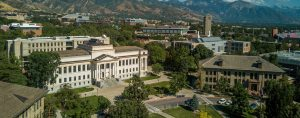 University of Utah Campus Drone Photo