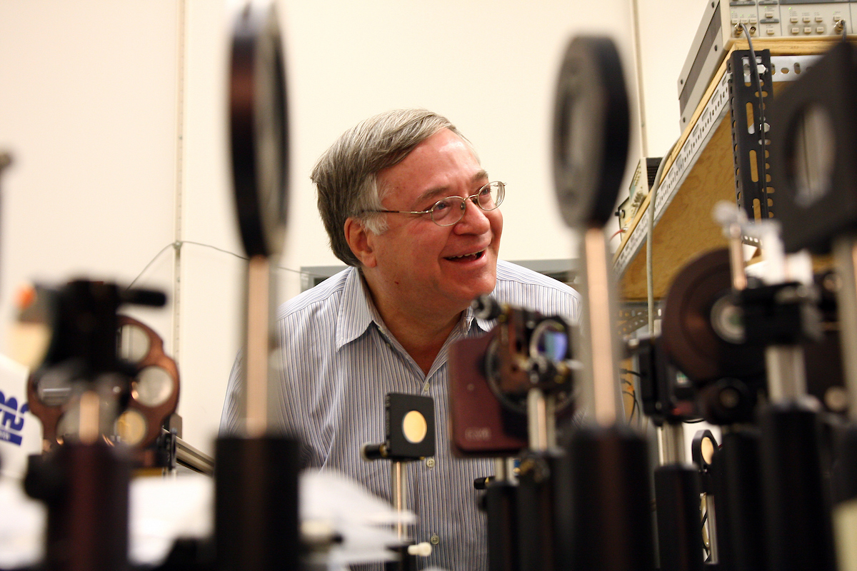 Z. Valy Vardeny, Distinguished Professor, Department of Physics & Astronomy.