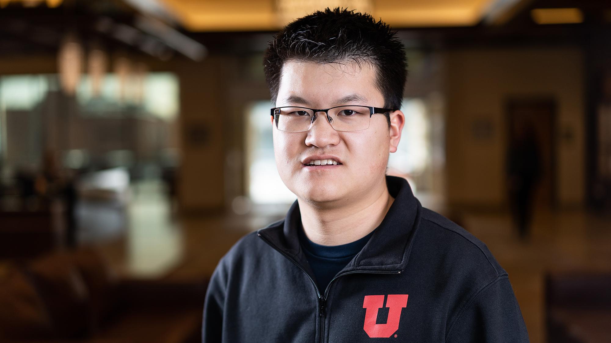 Churchill Scholar Michael Xiao