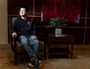 Michael Xiao, 2020 Churchill scholar from the U.