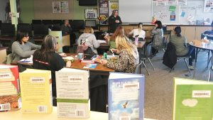 Group of paraeducators receives free training