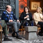 Four experts on mental health sit on a panel at the 2020 Sundance Film Festival. From left to right they are: moderator Kenneth Rosenburg, psychiatrist and filmmaker; James Ashworth, interim chair of the Department of Psychology at the U; Deborah Yurgelun-Todd, psychiatrist and researcher at the U; Paula Cook, addiction specialist at the University Neuropsychiatric Institute; and Christena Huntsman Durham, vice chairperson and executive vice president of the Huntsman Foundation, which recently gave an unprecedented $150 million to establish the Huntsman Mental Health Institute at the U.