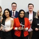 Group of 2019 HIP Talks winners