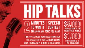 HIP Talks flyer