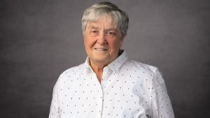 headshot of Kristen Ries, honorary degree recipient