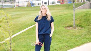 Former U Gymnast Turned Nurse Mary Beth Lofgren