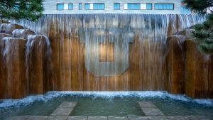 Block U water fountain
