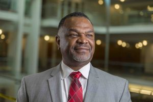 headshot of Martell Teasley, Dean of the College of Social Work